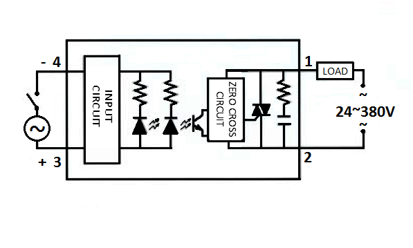Schematic Diagram AC to AC