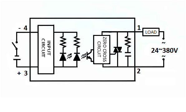 Schematic Diagram DC to AC