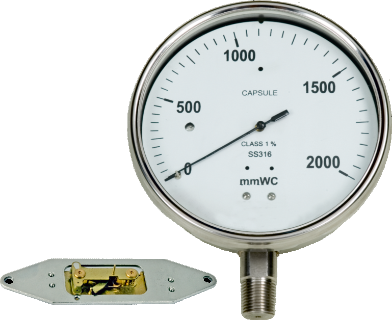 capsule pressure gauge