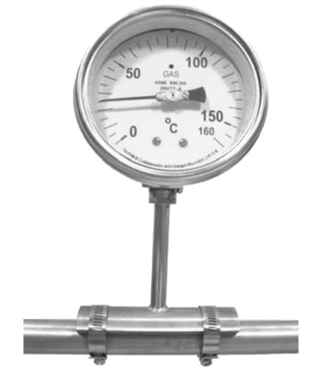 skin type gas filled dial thermometer