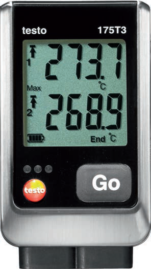 testo data loggers 175 range. Black Bedroom Furniture Sets. Home Design Ideas