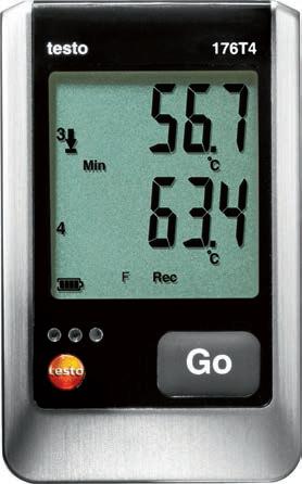 Testo 176 T4 - Four Thermocouple Temperature Logger