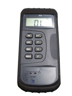 Type K digital hand held meter