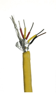 PVC Insulated Multi-Pair Extension Wire with Overall Shield