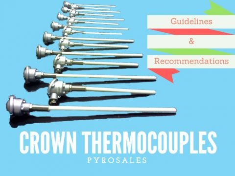 Crown Thermocouples for the Glass Industry