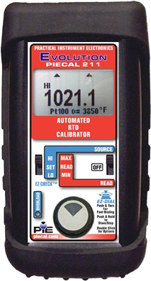 PIE 211 Automated RTD Calibrator
