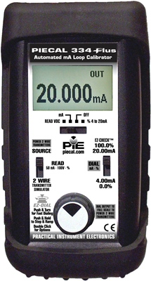 PIE 334PLUS Milliamp Loop Diagnostic Calibrator