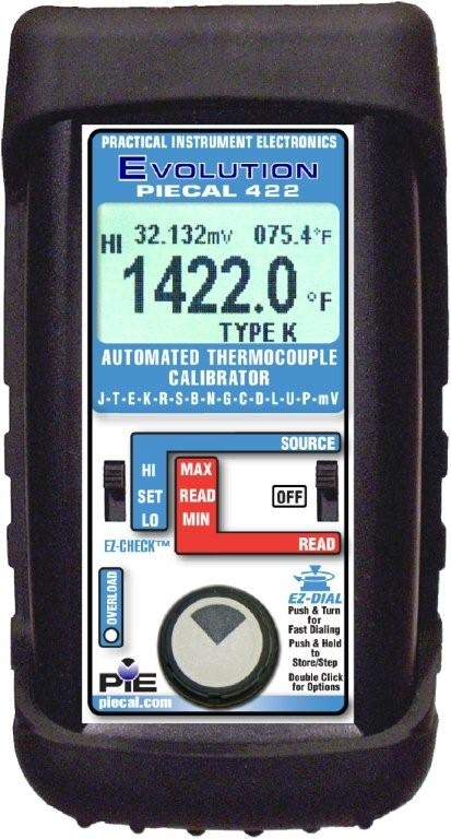 PIE 422 Automated Thermocouple Calibrator
