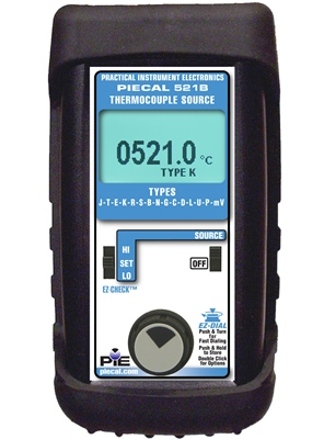 PIE 521B Thermocouple & RTD Dual Calibrator