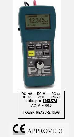 PIE 532 4-20 mA/Voltage Loop Calibrator