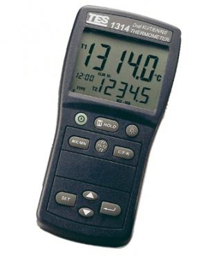 Dual input multi-input thermocouple meter