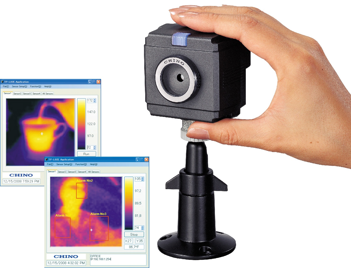 infrared thermal imaging sensor