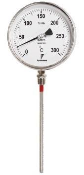 Bimetal dial thermometer temperature gauge