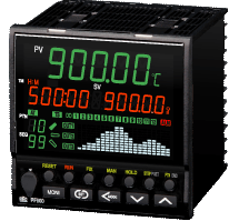 Take a look at the RKC PF900 ramp soak controller