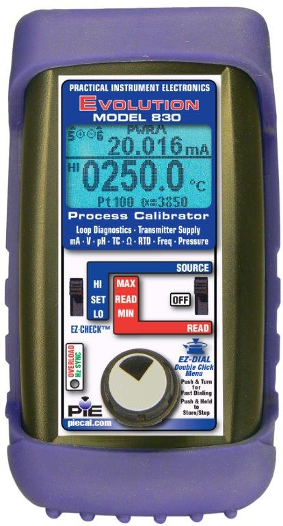 PIE 830 Multifunction Process Calibrator