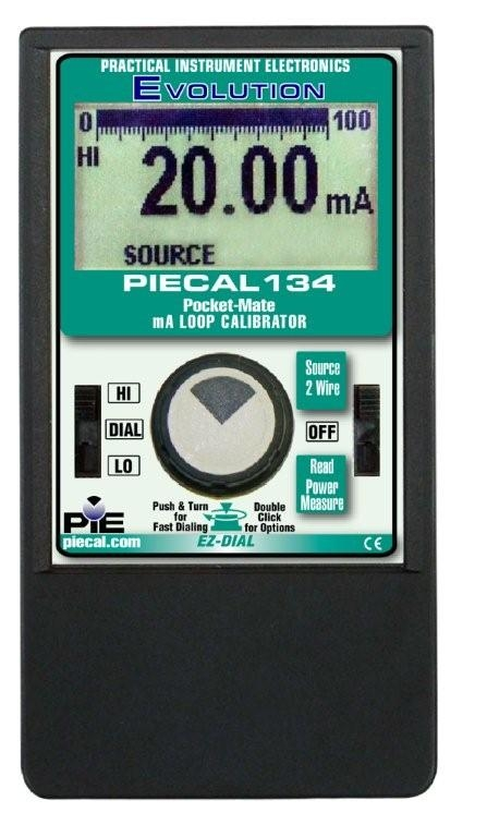 PIE 134 Pocket-CalTM Milliamp Calibrator