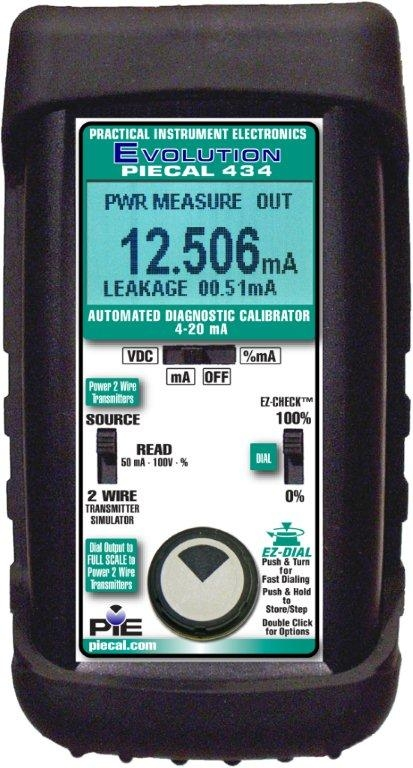 PIE 434 High Accuracy Milliamp Loop Diagnostic Calibrator
