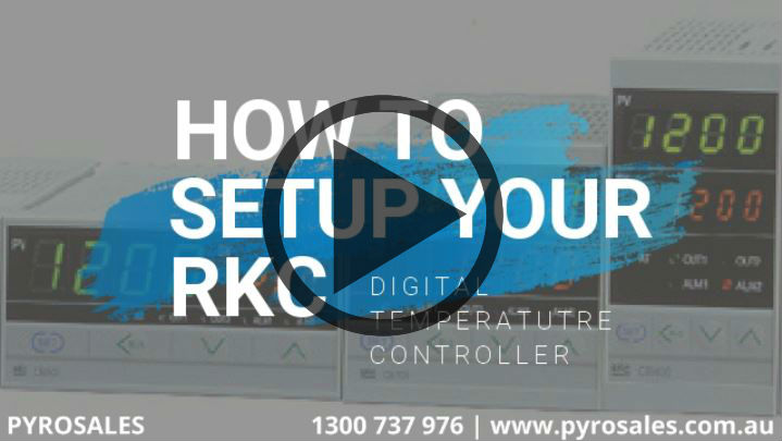 VIDEO: Setting up your RKC digital temperature controller
