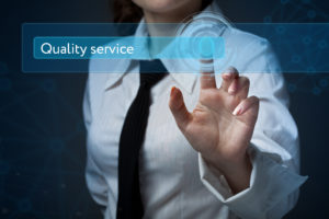 page quality and service