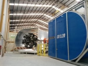 rotational moulding oven