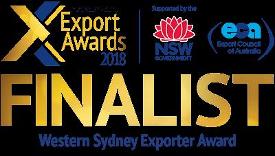 Western Sydney Exporter Award Finalist