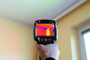 Testo thermal imaging camera inspections