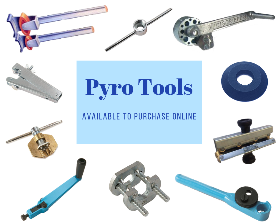 Pyro tools available at Pyrosales