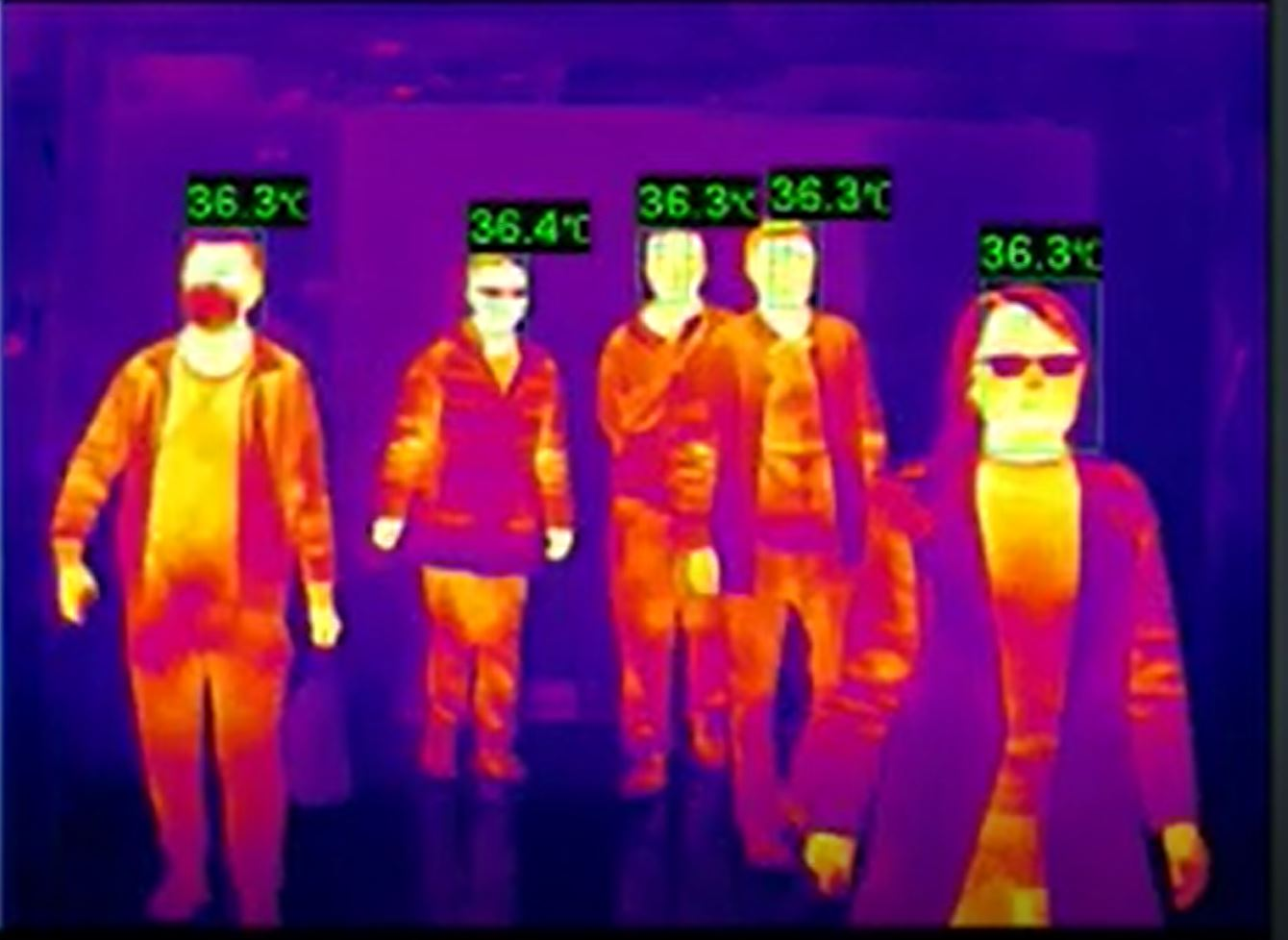 Only thermal picture