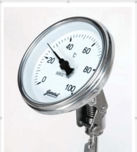 bimetal gauge face image