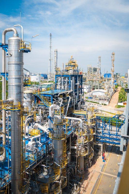 Industrial Petroleum Plant